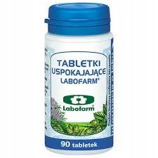 Tabletki uspokajające labofarm 90 tabletek