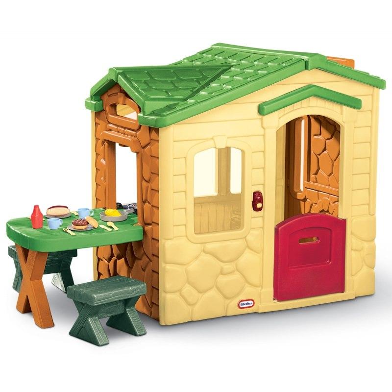 Little Tikes Domek Piknikowy z Patio i magicznym d