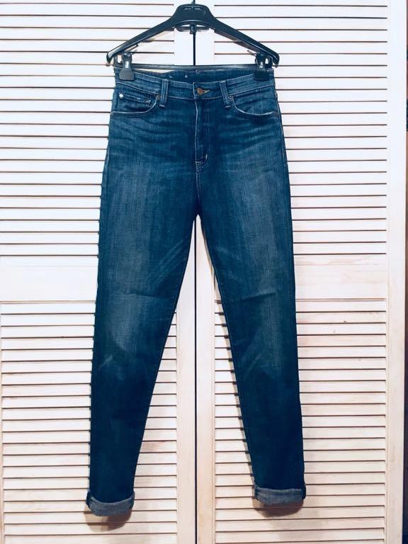 RALPH LAUREN spodnie jeans 29x32 high rise skinny