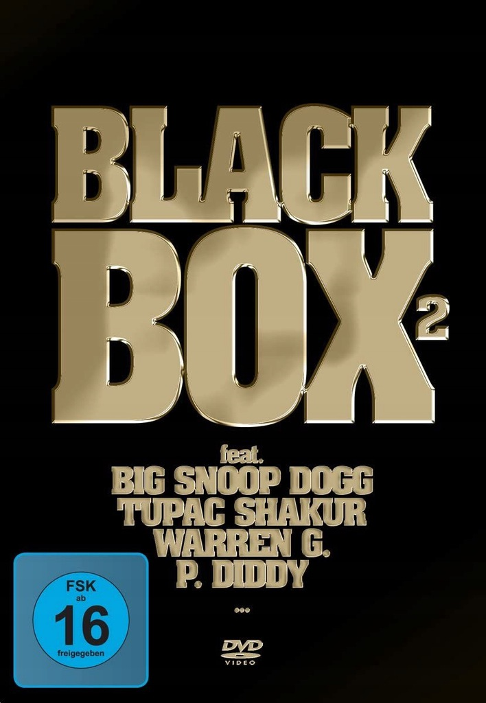 BLACK BOX2 SNOOP DOGG/TUPAC/WARREN G. 3DVD FOLIA