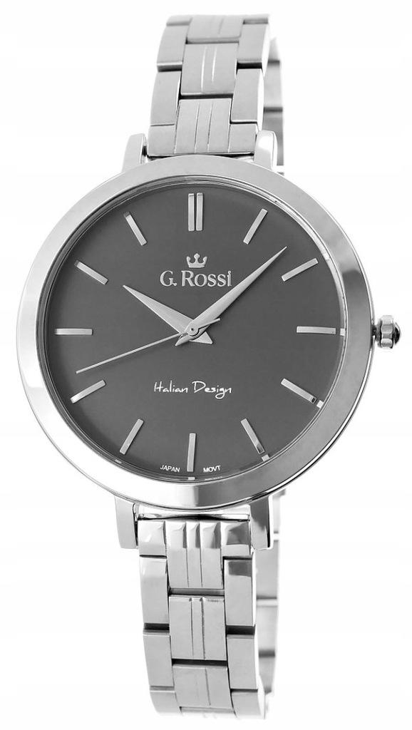 Zegarek Damski Gino Rossi 11389B-1C1 tar tytanowa
