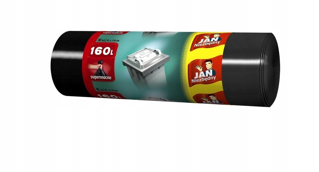 Worki na śmieci JAN mocne 160l a10 ld