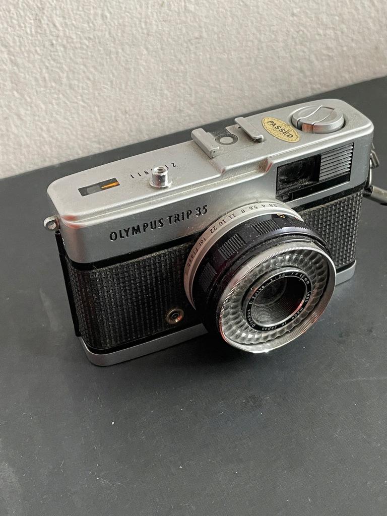 Olympus Trip 35 - super stan - Vintage analog- BCM