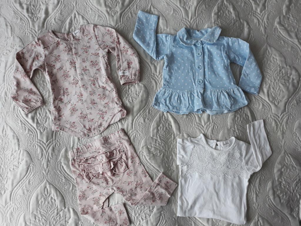 Zestaw/paka roz 74 ŁADNE ubranka 26 szt+gratisy