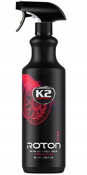 K2 ROTON PRO 1L Krwawa felga Żel do mycia felg
