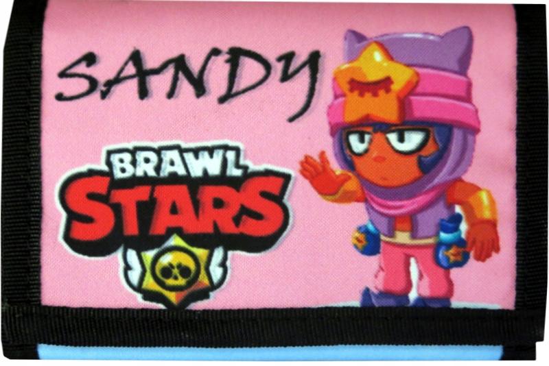 Portfel BRAWL STARS portfele SLEEPY SANDY jakość