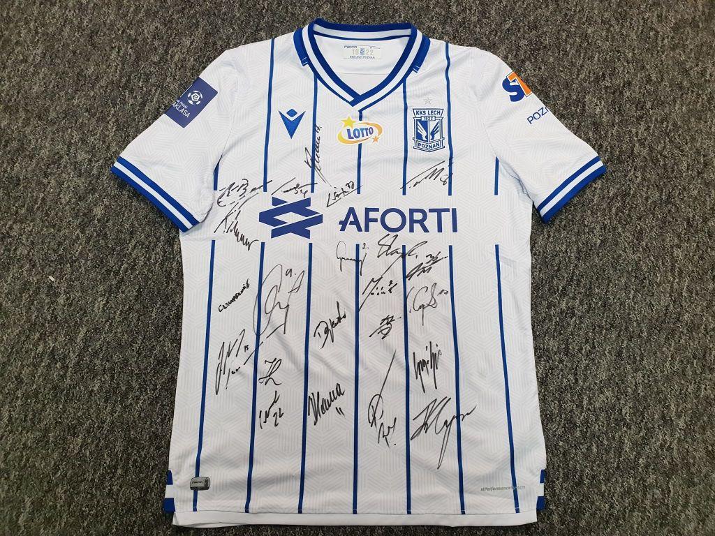 Lech Poznań (Jevtić) - koszulka z autografami