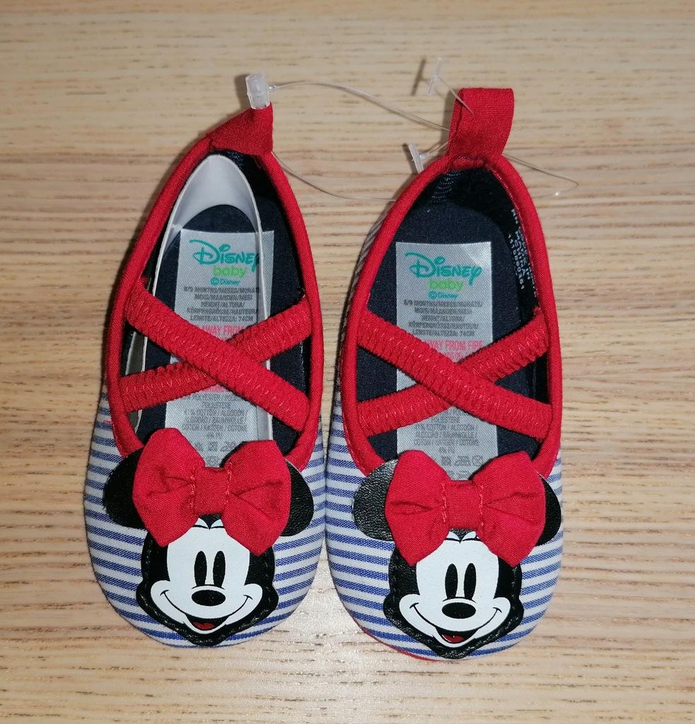 Niechodki buciki Myszka Minnie Disney