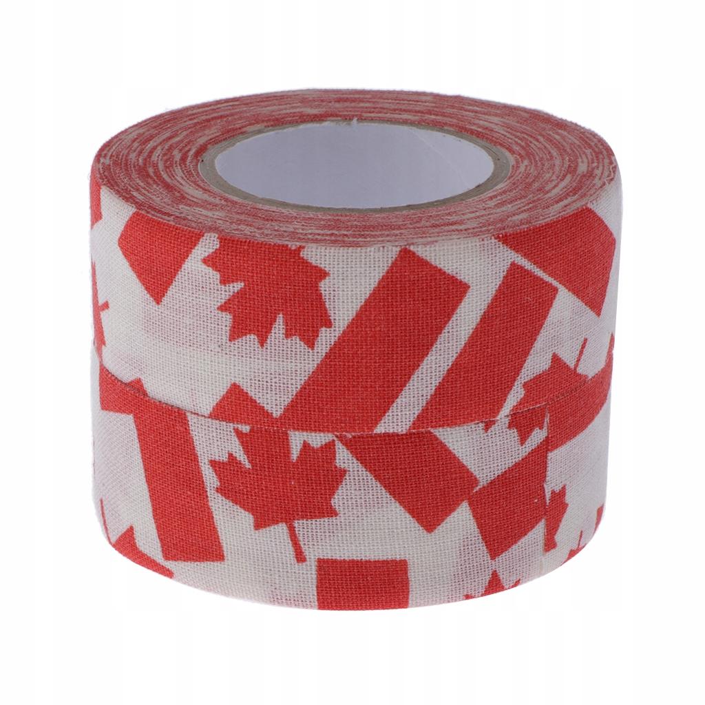 2Rolls taśmy do hokeja - Liść Klonu Czerwonego