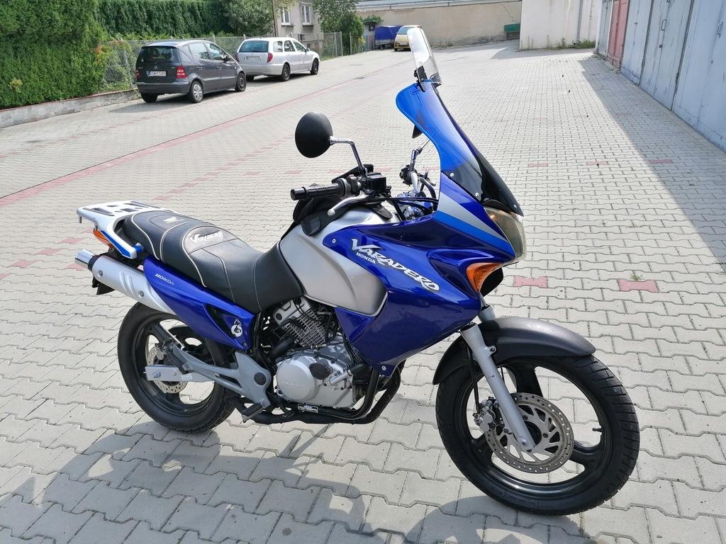 Honda Varadero 125 Duzy Motocykl Kat B 8471247093 Oficjalne Archiwum Allegro