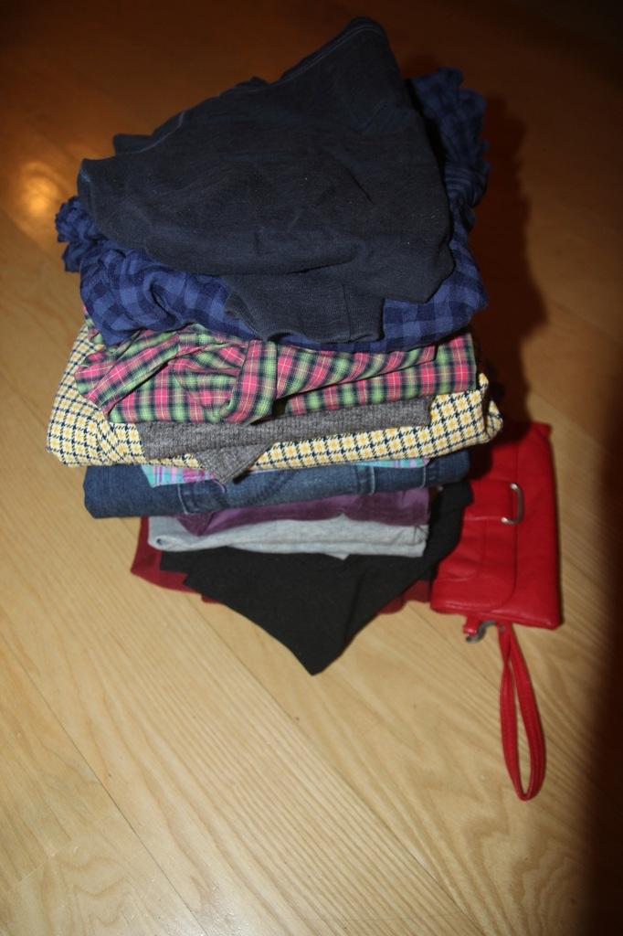 Zestaw, paczka 15 ubrań w rozmiarze XS / 34