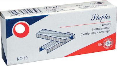 Zszywki Titanum no10 HURT 10x1000szt 58906