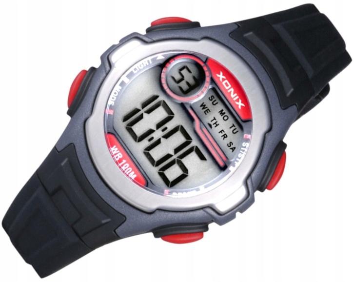 Zegarek Dziecięcy Elektroniczny IB-007 Xonix WR100