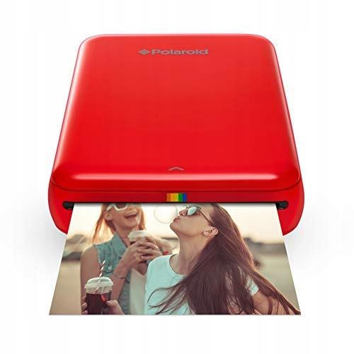 Drukarka mobilna Polaroid ZIP, Czerwony