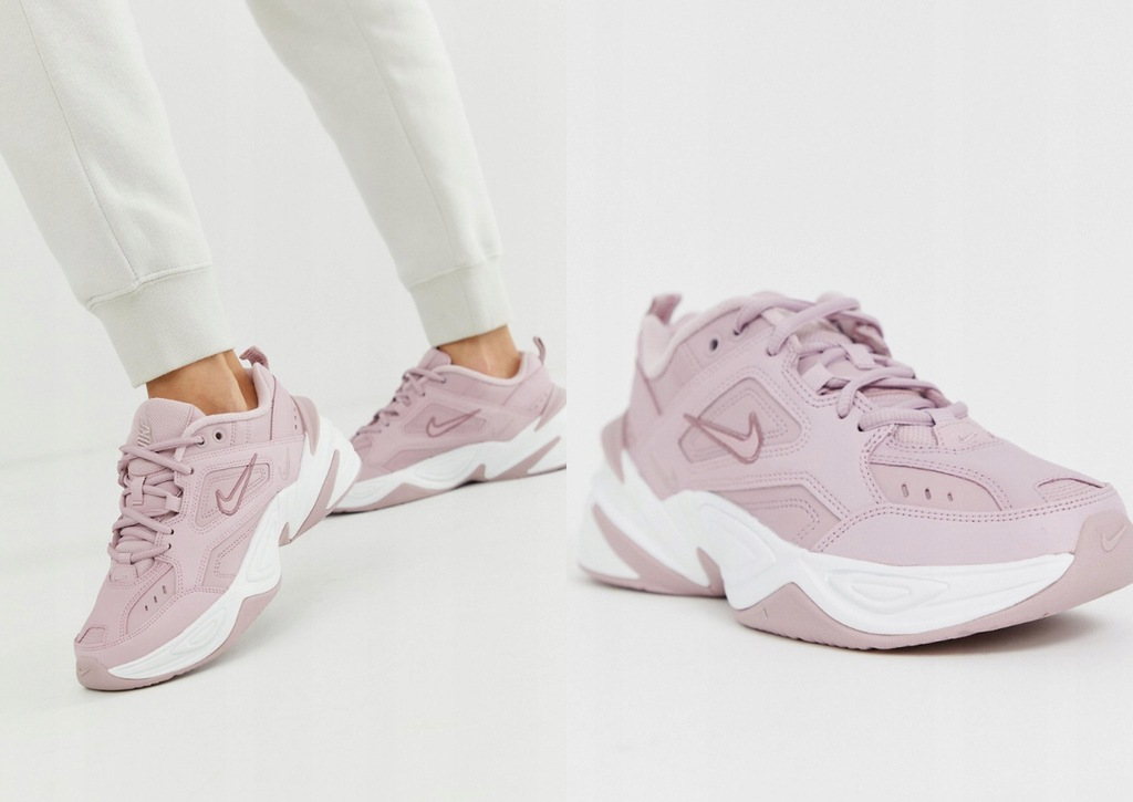 NIKE M2K TEKNO TRAINERS IN PINK AO3108 500 40