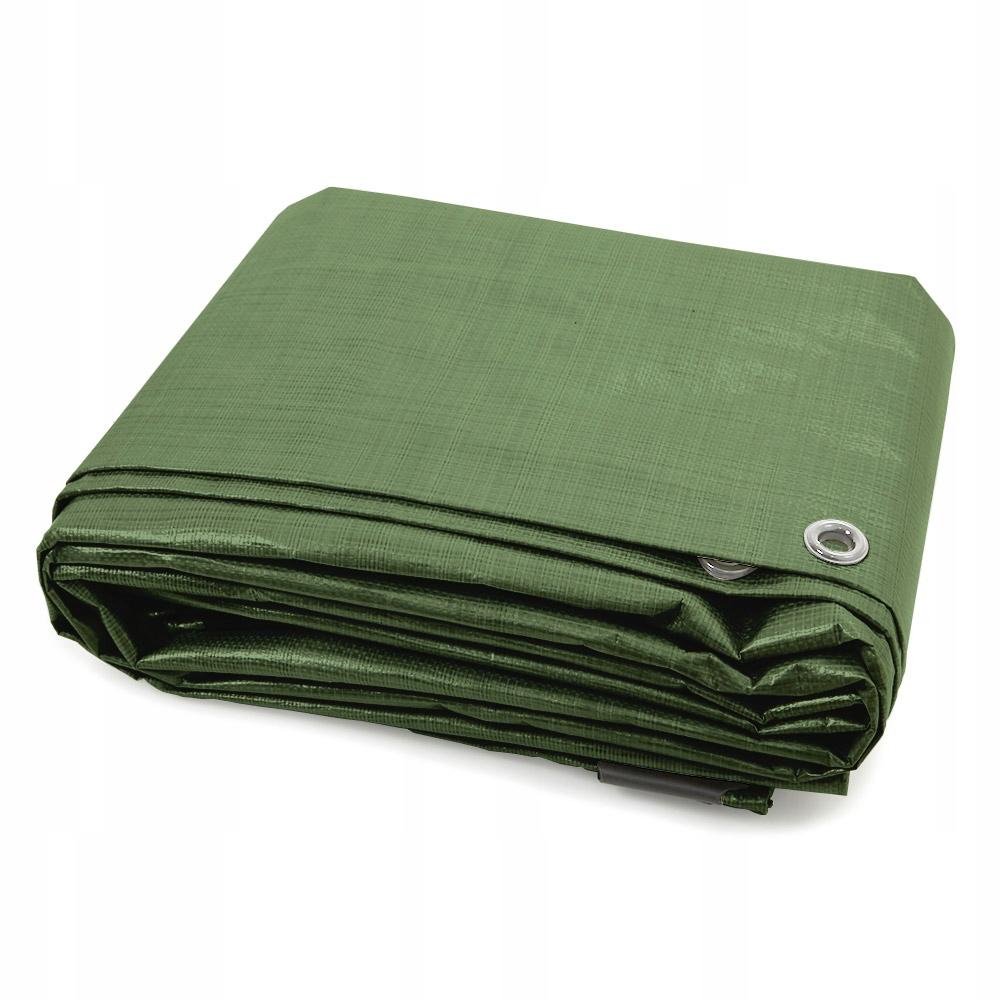 Uniwersalna plandeka ochronna zielona, 8x10m