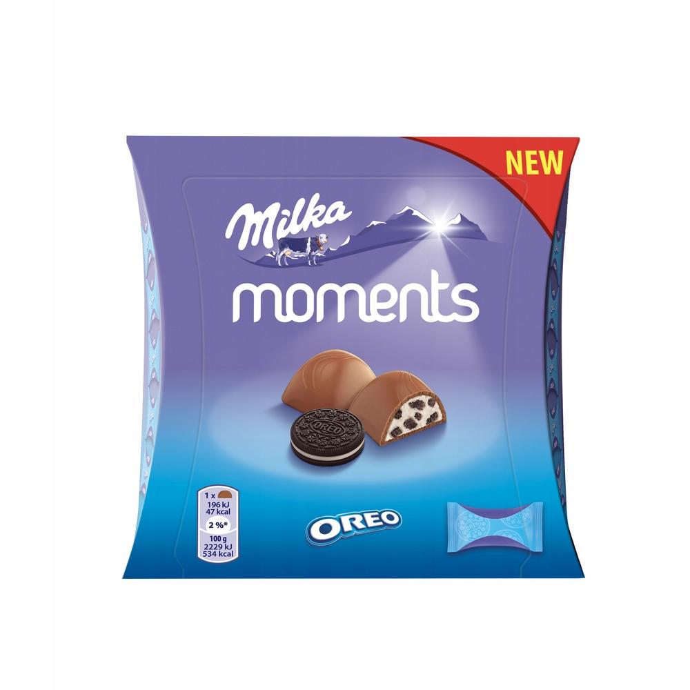 Czekoladki MILKA Moments Oreo 92g