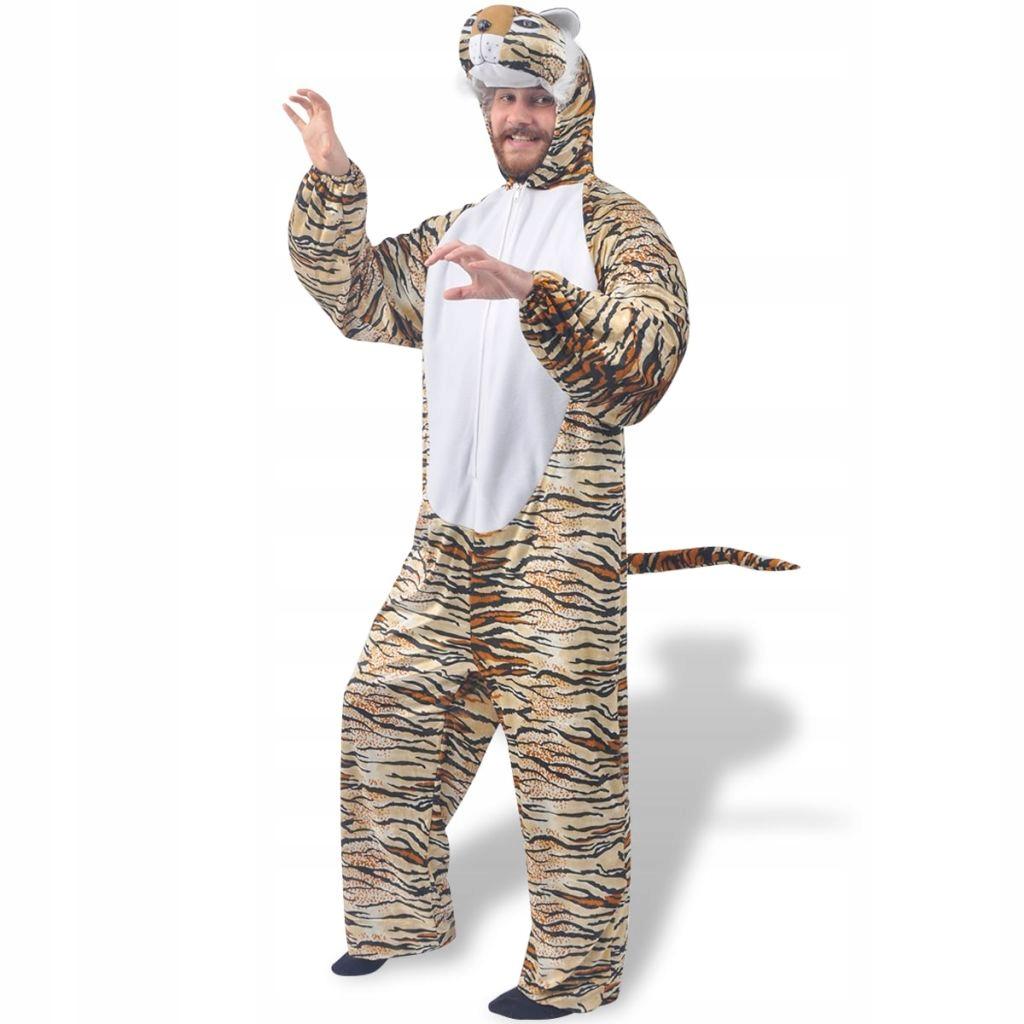 Karnawałowy kostium tygrysa, XL-XXL