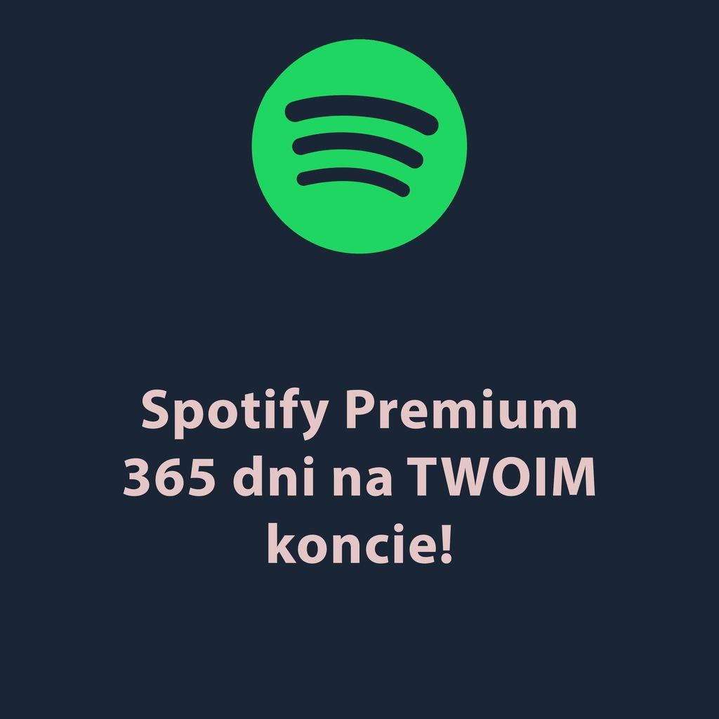 Spotify_ Premium na rok - 365dni