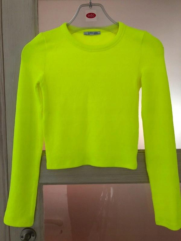 Zara trafaluc sweterek neon Marina, Sara,Ines 36 S