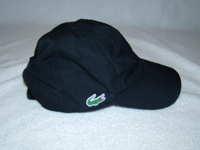 LACOSTE SPORT czapka bejsbolówka one size czarna
