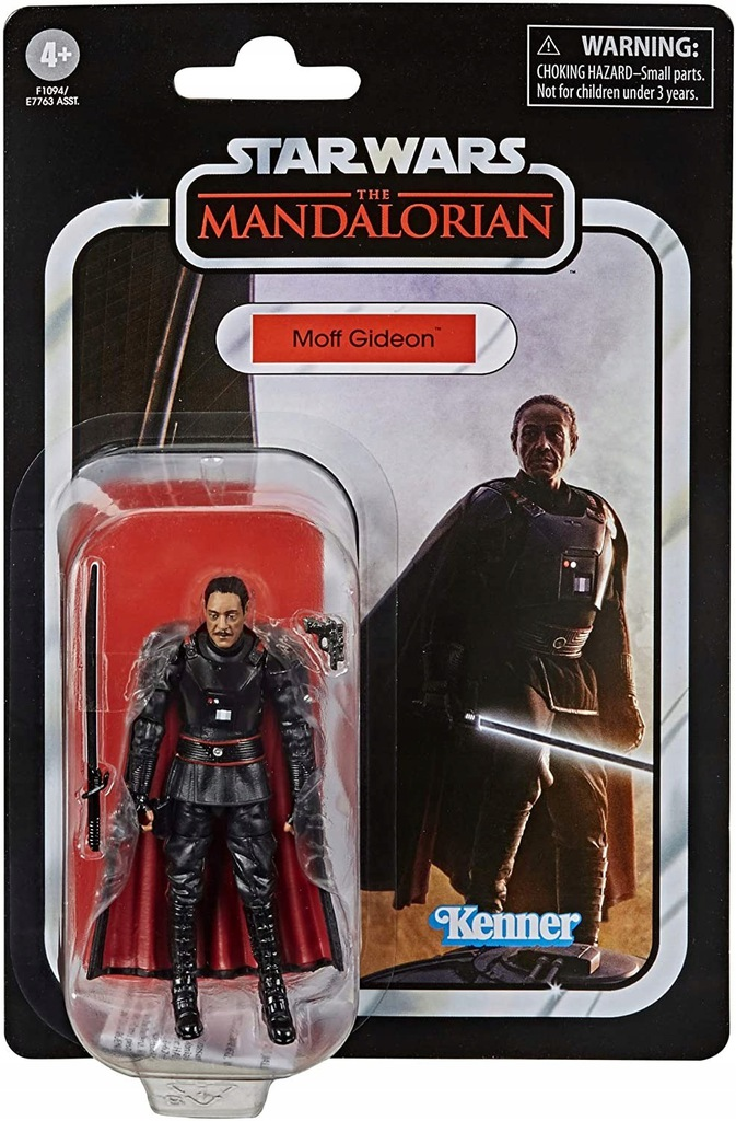 Star Wars Vintage: The Mandalorian - Moff Gideon