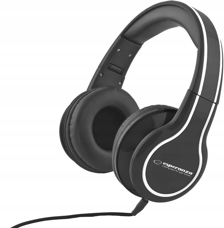 Słuchawki Esperanza Blues EH136K (kolor czarny)