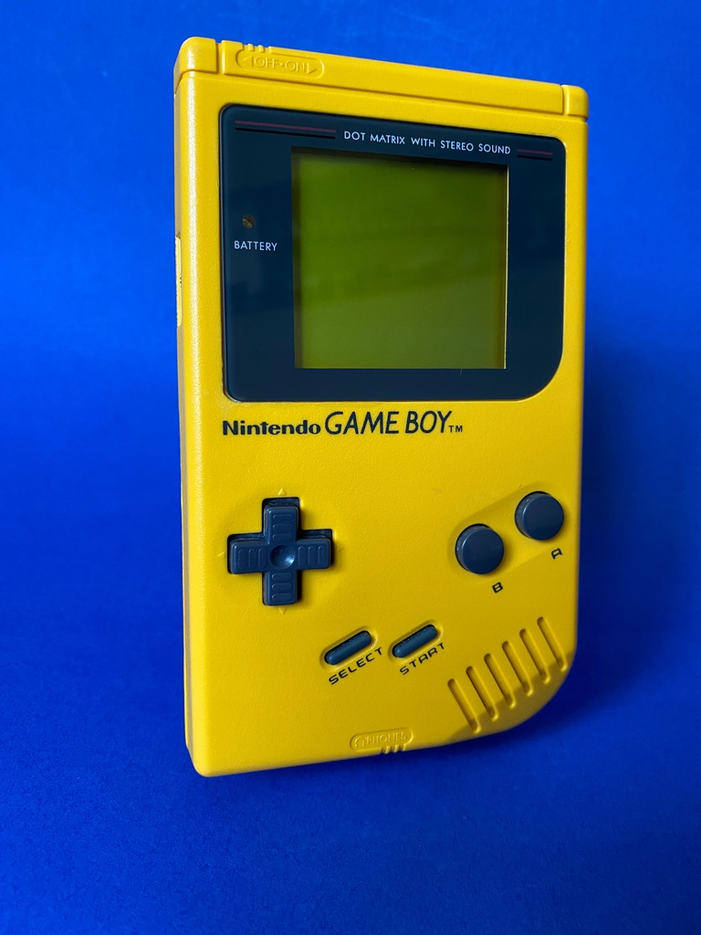 Game boy Klasyk Żółty Yellow