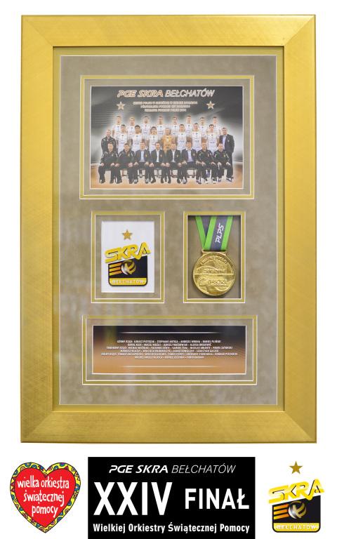 Złoty medal PGE Skry - Mistrza Polski 2013/2014