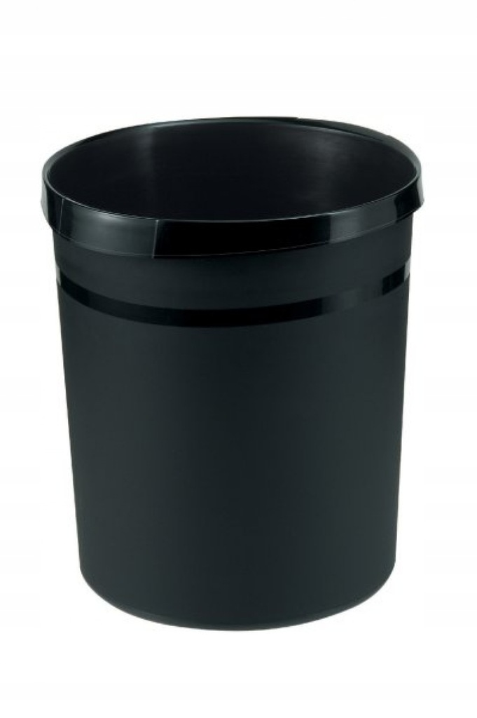 Kosz na śmieci HAN Grip, PP, 18l, czarny