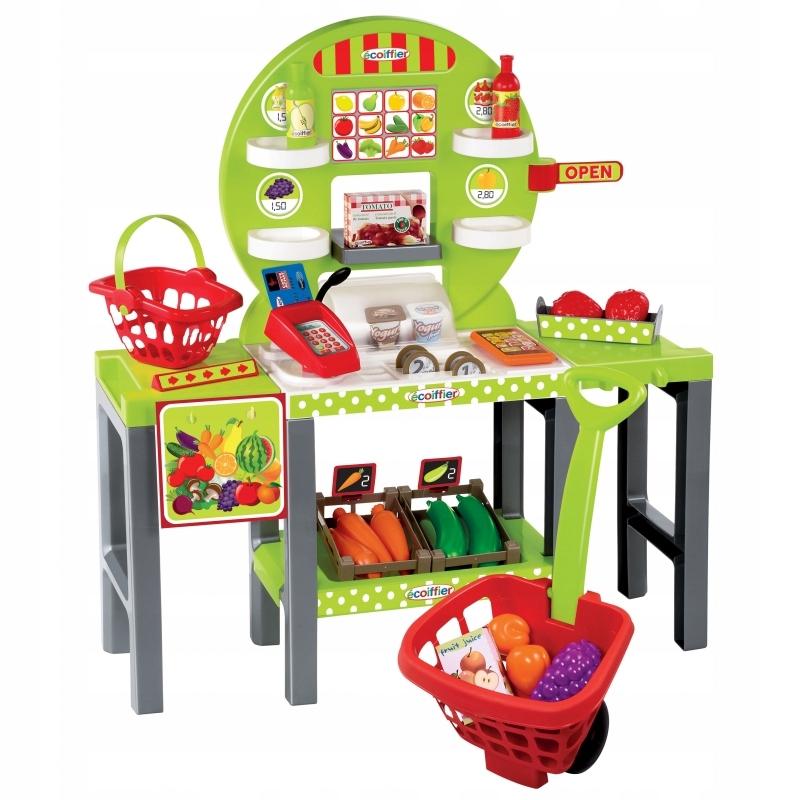 Sklep Stragan Warzywa Owoce Dla Dzieci 34 akc.