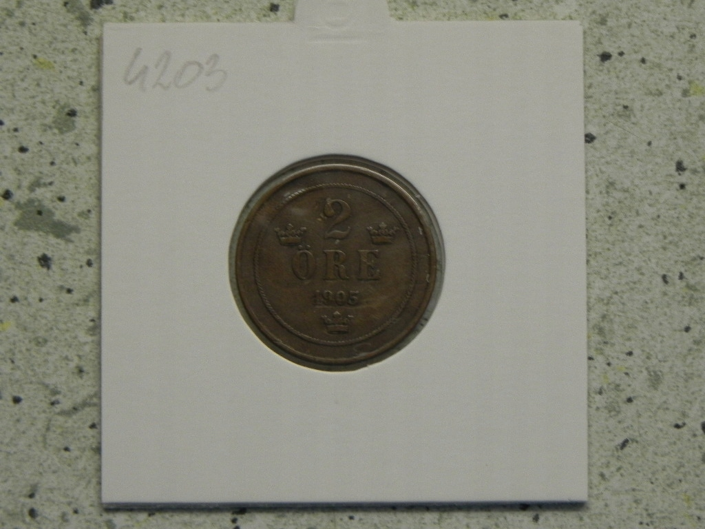 4203/ 2 ORE 1905 SZWECJA