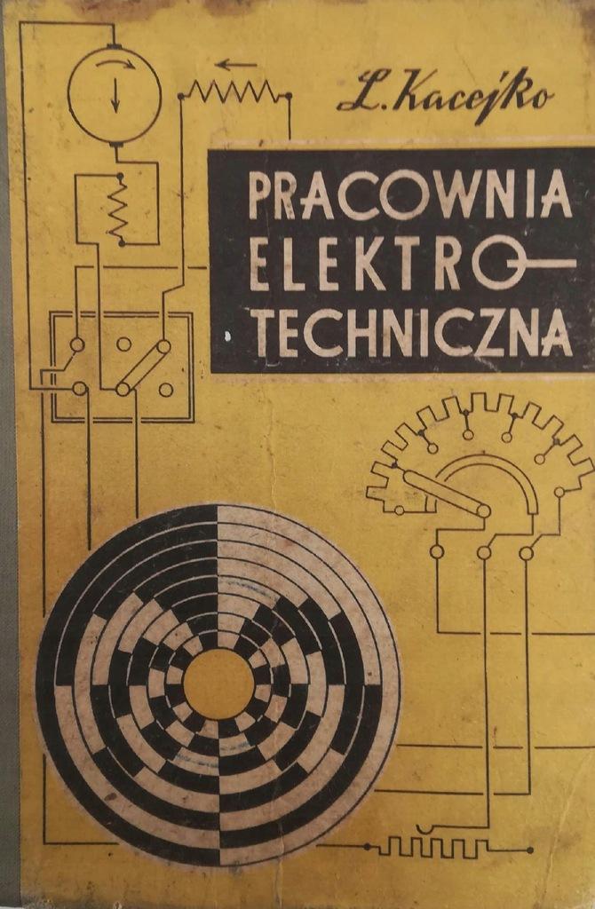 Pracownia elektrotechniczna - L. Kacejko 1967