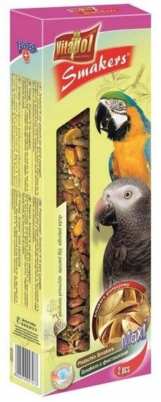 Vitapol Smakers dla dużych papug - pistacjowy 2szt