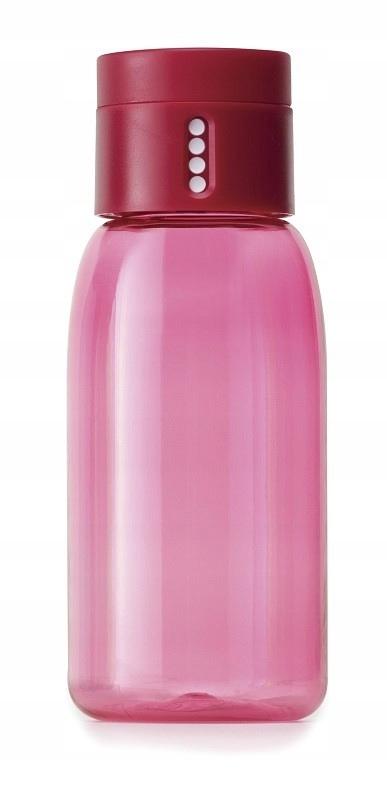 JOSEPH Butelka na wodę 400ml różowa Dot