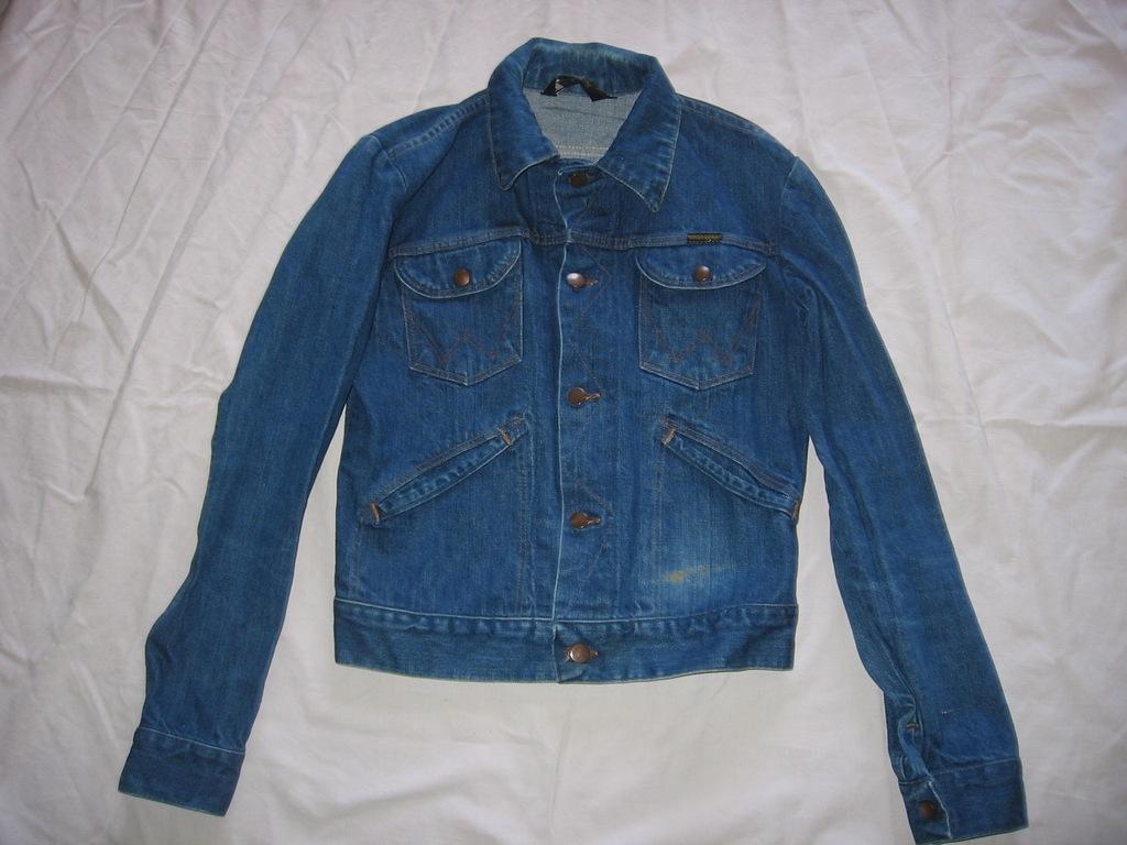 kurtka katana jeansowa dżinsowa jeans Wrangler 36