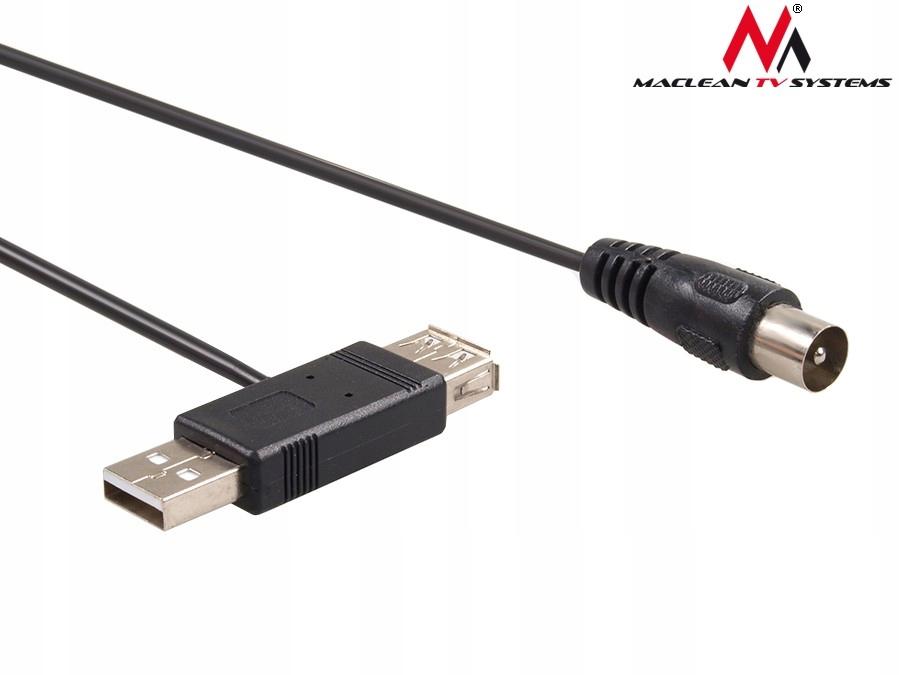 Złącze USB adapter do anteny Dvb-t 5V MCTV-697