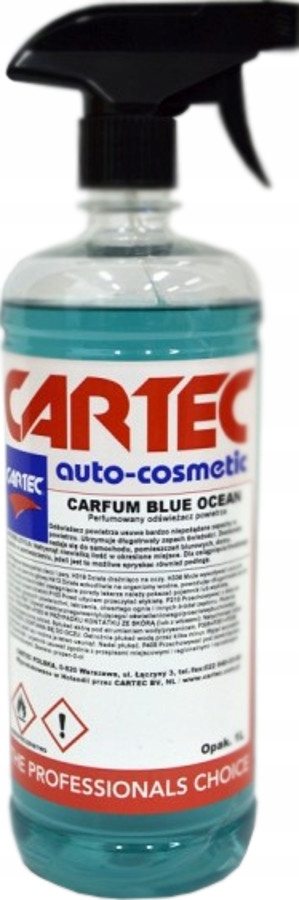 CARTEC BLUE OCEAN 1L - Perfumy Zapach Samochodowy