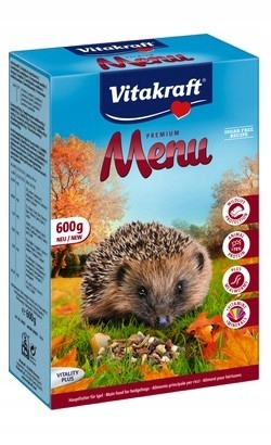 Vitakraft Menu Karma dla jeży 600g