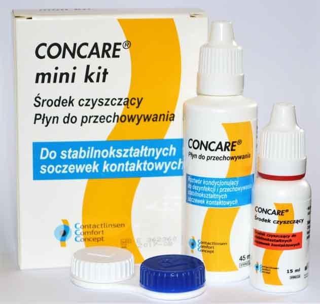 Concare minikit płyn i środek czyszczący