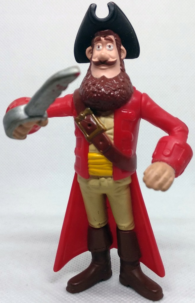 Figurka - The Pirates! Band of Misfits / Kapitan