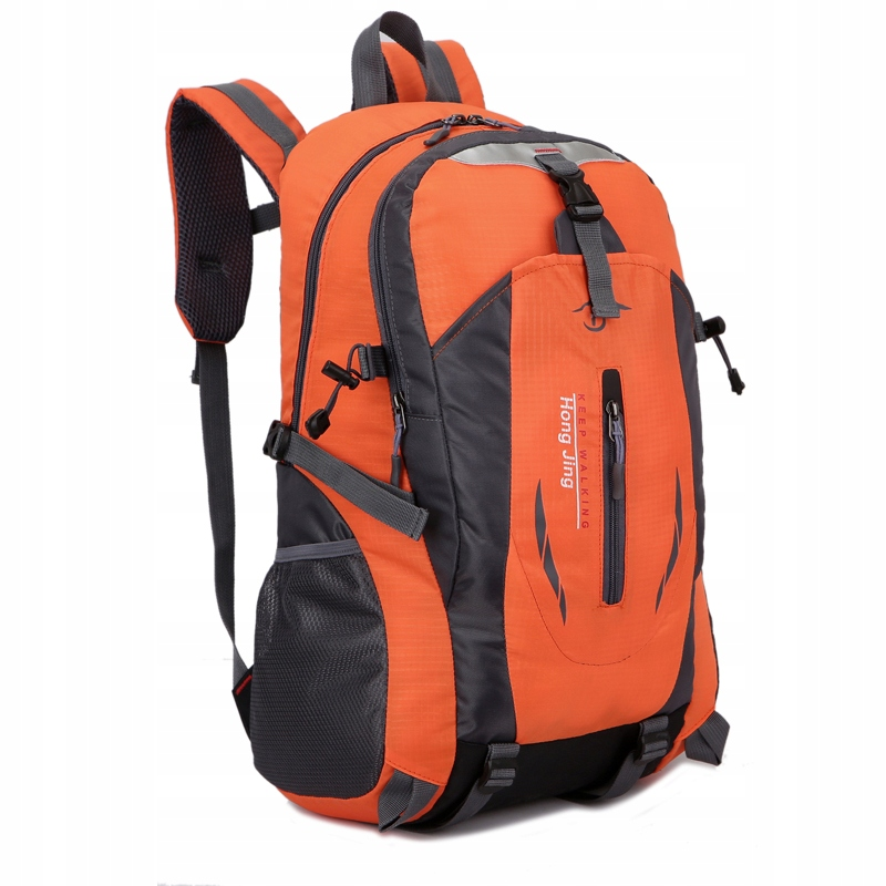 Plecak 40L Turystyczno - Trekkingowy pomarańczowy