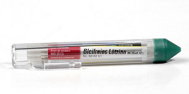 Drut lutowniczy cyna Sn99.3Cu0.7 1.0 mm 15 g