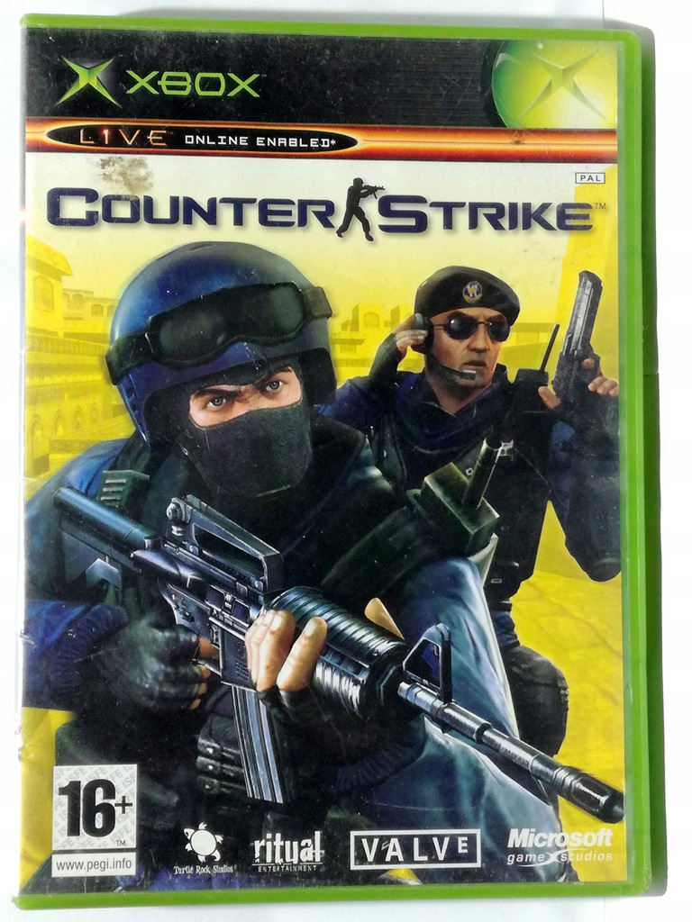 Counter Strike Xbox 9741457716 Oficjalne Archiwum Allegro