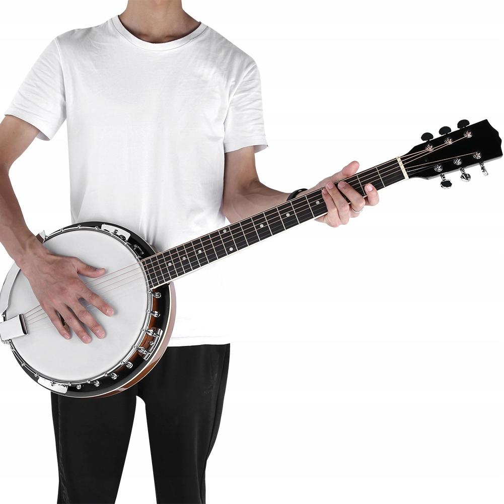 Banjo 6-strunowe 105cm*15cm Banjo