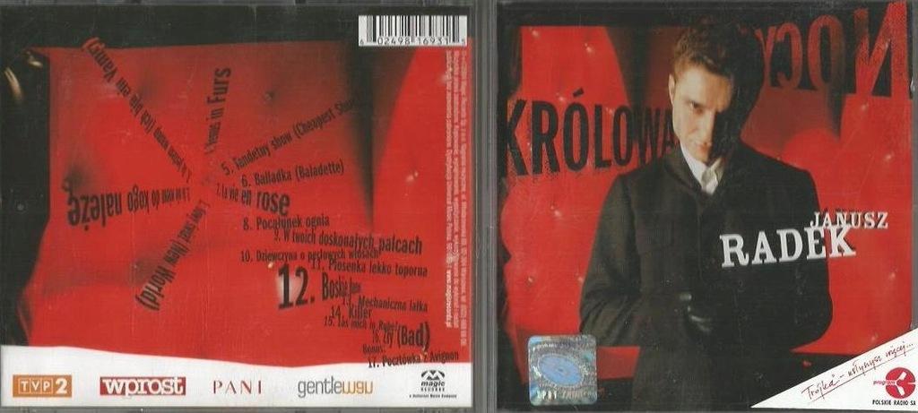 JANUSZ RADEK - KRÓLOWA NOCY (2004)