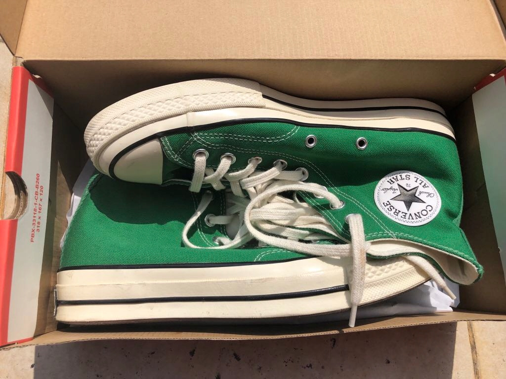 Buty Converse, zielone, rozmiar 41,5