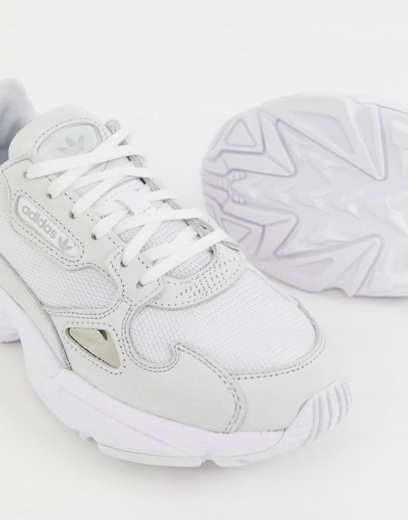 adidas originals __ xck białe falcon __ 39