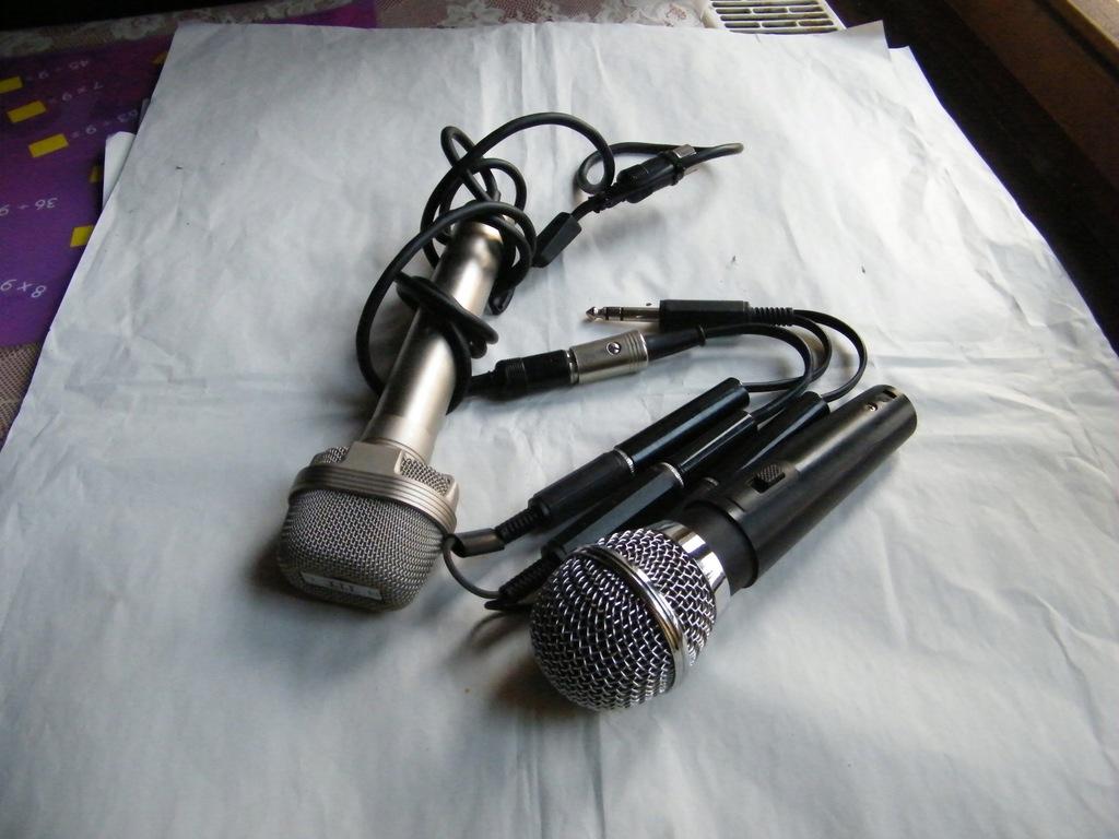 Stare mikrofony