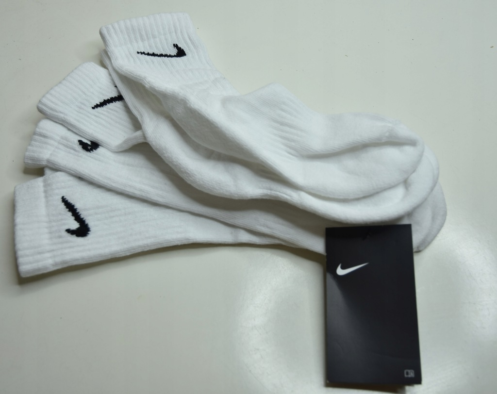 Aks5* Nike białe sportowe 3 pack 35-38